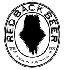 Logo of Red Back beer from 1987