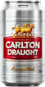 Carlton Draught's trade marked 'keg can': Draught beer at its best?