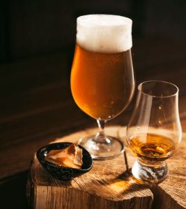 Brothers in malt: Beer and whisky