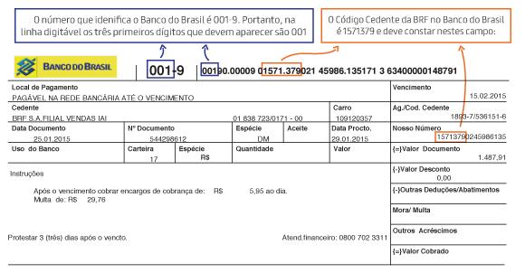 Boleto Banco do Brasil