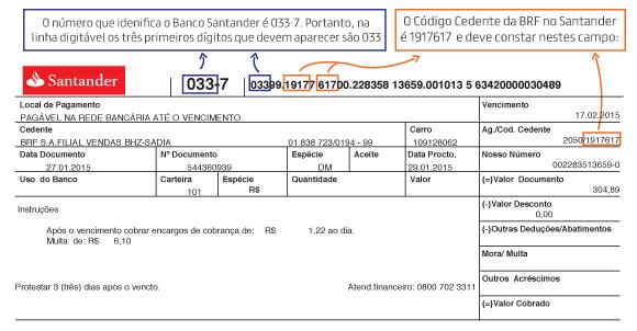 Boleto Santander