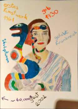 Florian Gabl - Gestaltung zur Künstlerin Niki de St. Phalle
