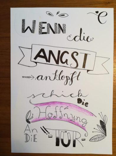 Handlettering, Annika Jochum, 1a