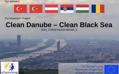 """""""Clean Danube Clean Black Sea"""" eTwinning Projekt der 7E"""