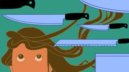 "Spot illustration: ""How to Buy Knives"""