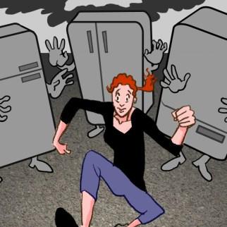 "Spot illustration: ""When Leftovers Go Bad"""