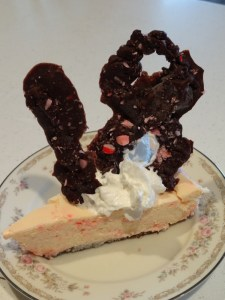 Peppermint Brownie Cheesecake and my 18th Birthday