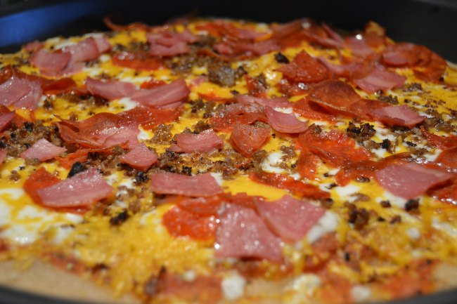 THM Frozen Pizza Crust Tutorial