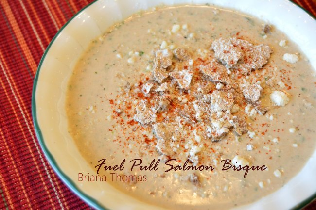 Fuel Pull Salmon Bisque