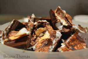 Skinny Meringue Chocolate Bites