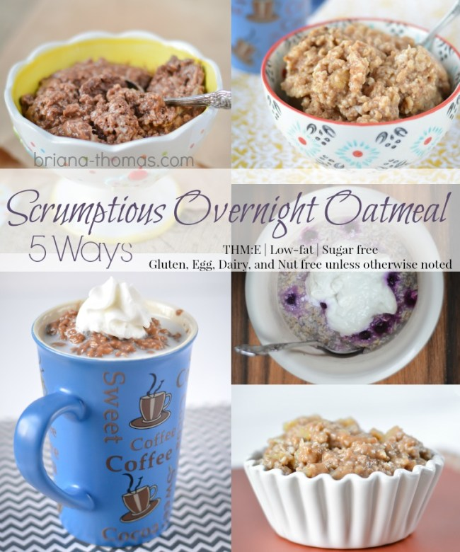 Scrumptious Overnight Oatmeal