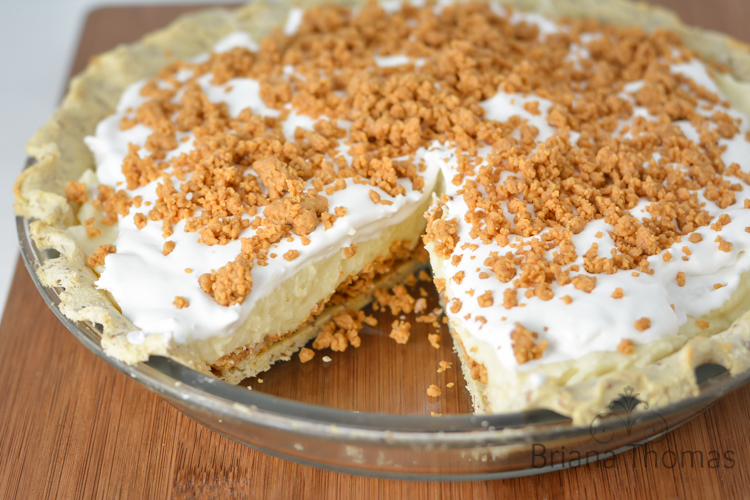 Briana's Peanut Butter Cream Pie (THM:S)