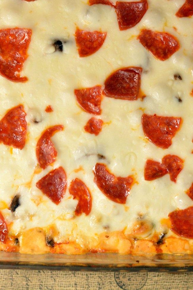 Supreme Pizza Party Dip