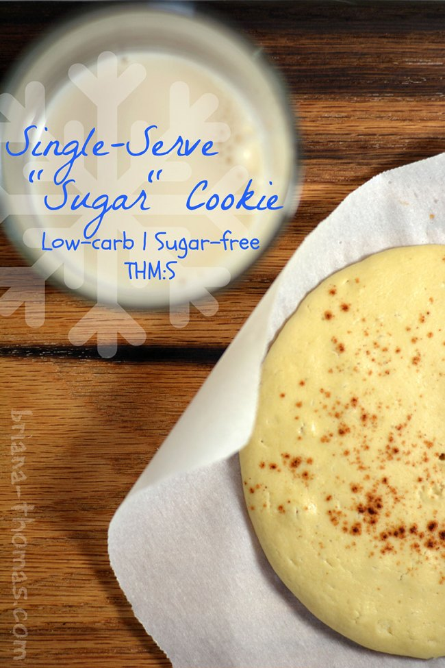Single-Serve Sugar Cookie