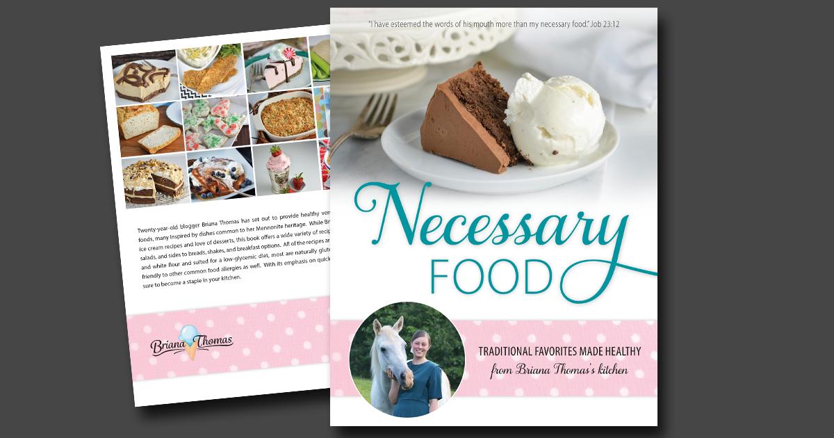 Necessary Food - the cookbook