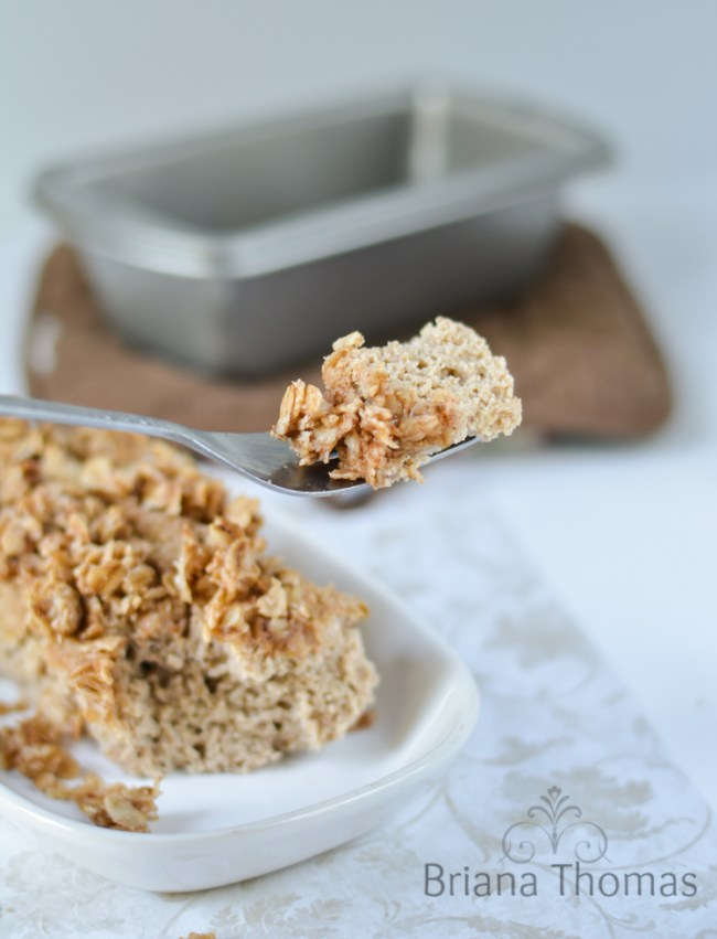 Single Serve Cinnamon Streusel Coffee Cake