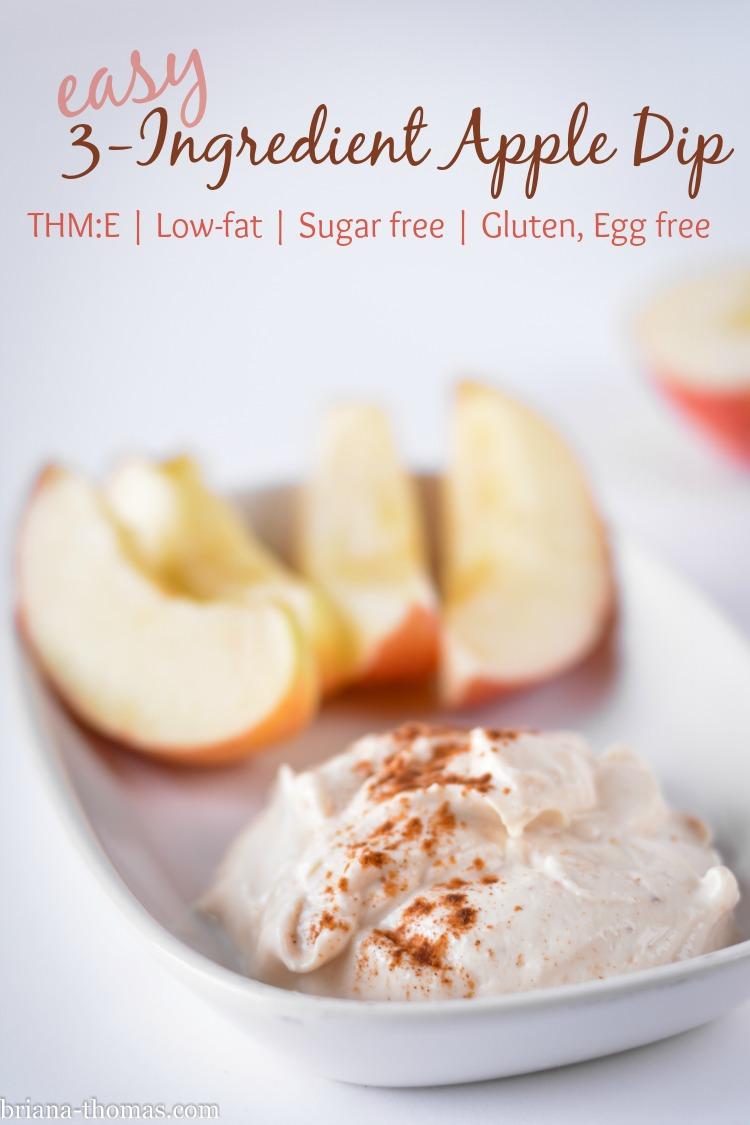 Easy 3-Ingredient Apple Dip