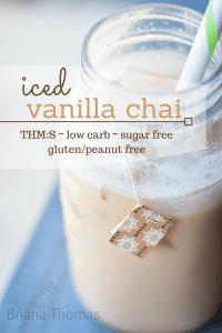 Iced Vanilla Chai