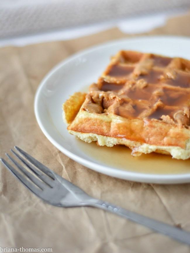 5 Ingredient Waffles