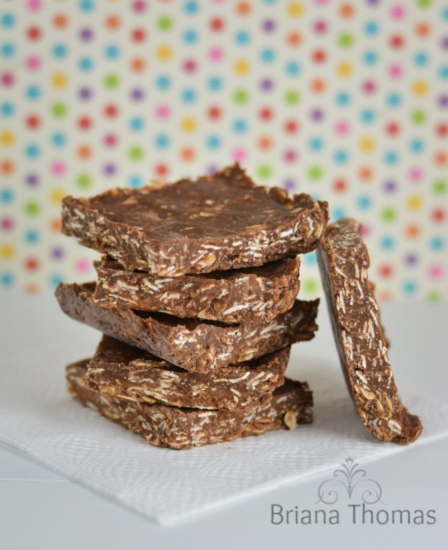 No Bake Snack Bars