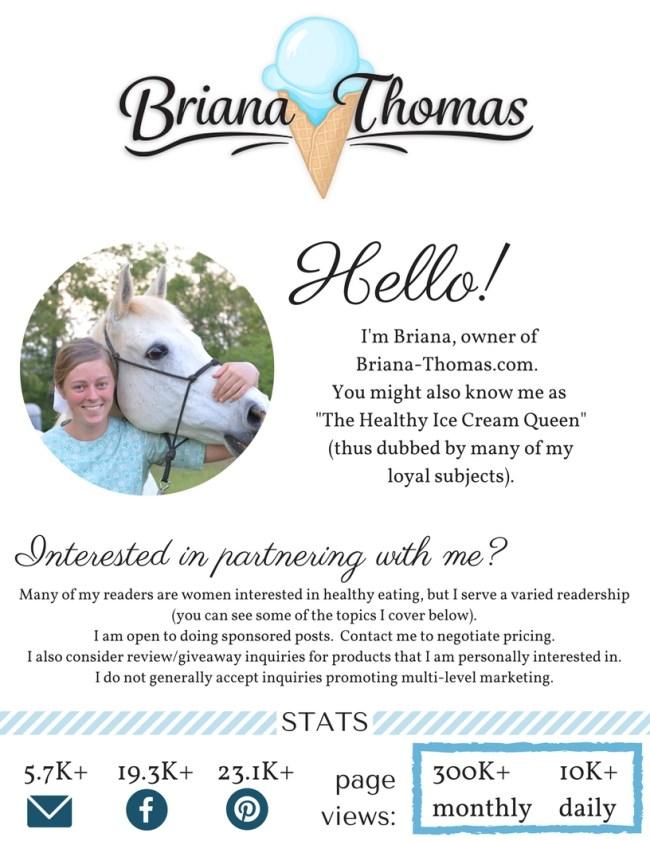 Briana-Thomas.com media kit