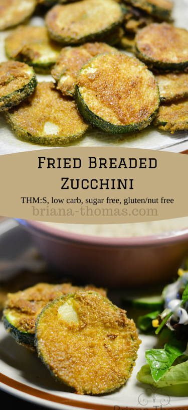 Fried Breaded Zucchini