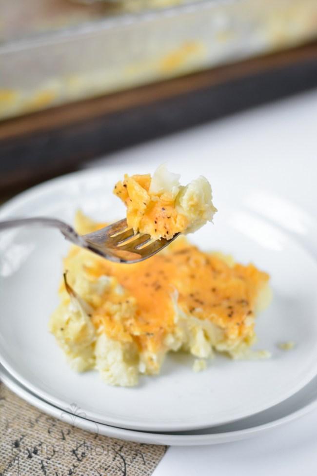 Southern Macaroni Pie - No Noodles
