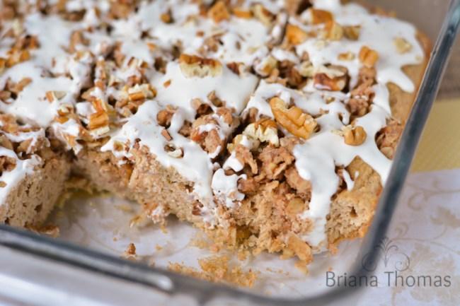 Pecan Streusel Coffee Cake