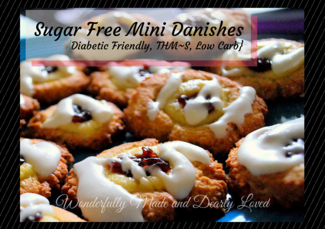 Sugar Free Mini Danishes