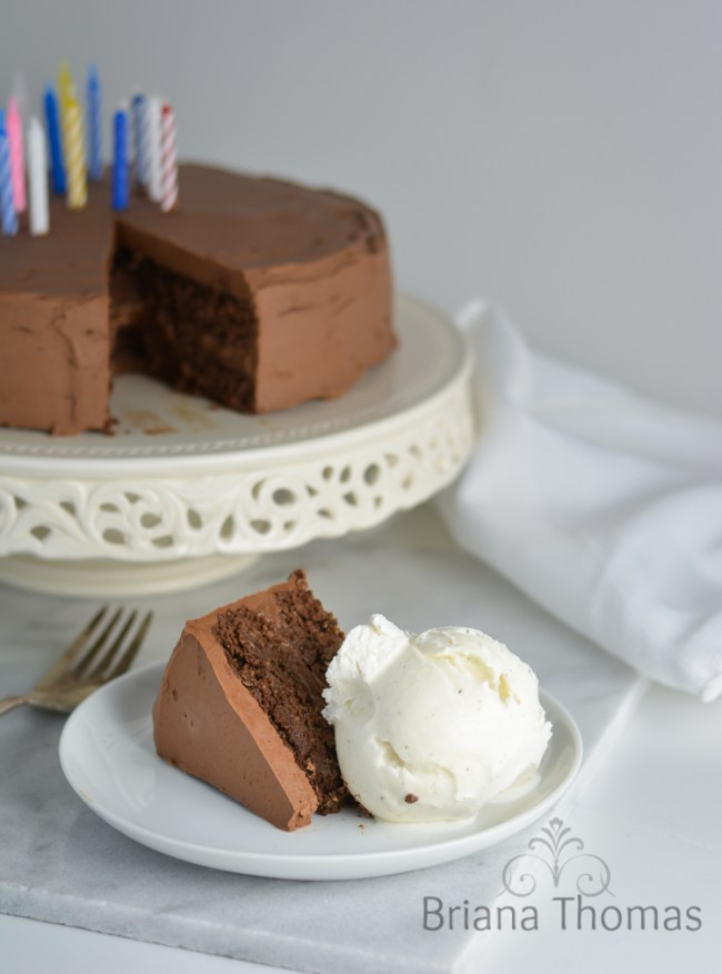 Whipped Chocolate Buttercream