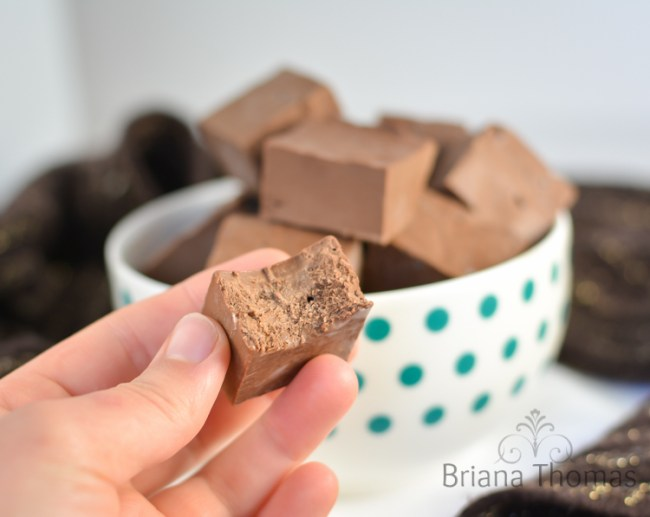 Chocolate Truffle Fudge