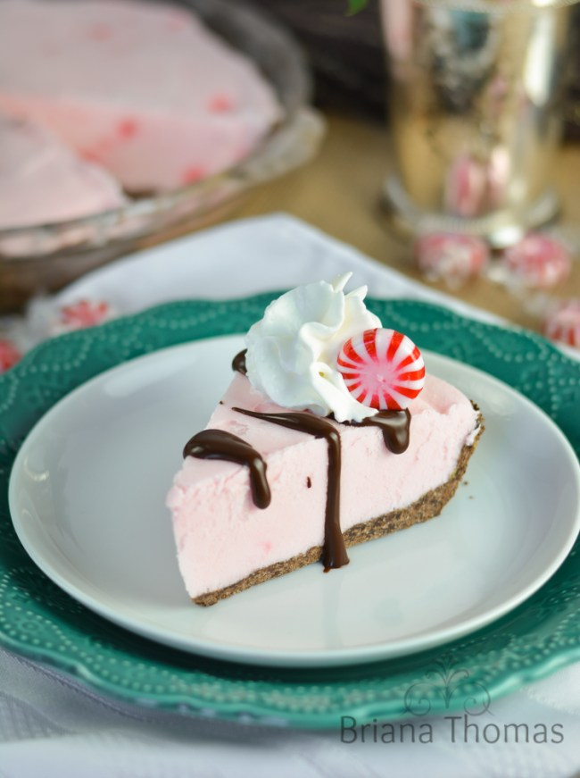 Frosted Peppermint Pie