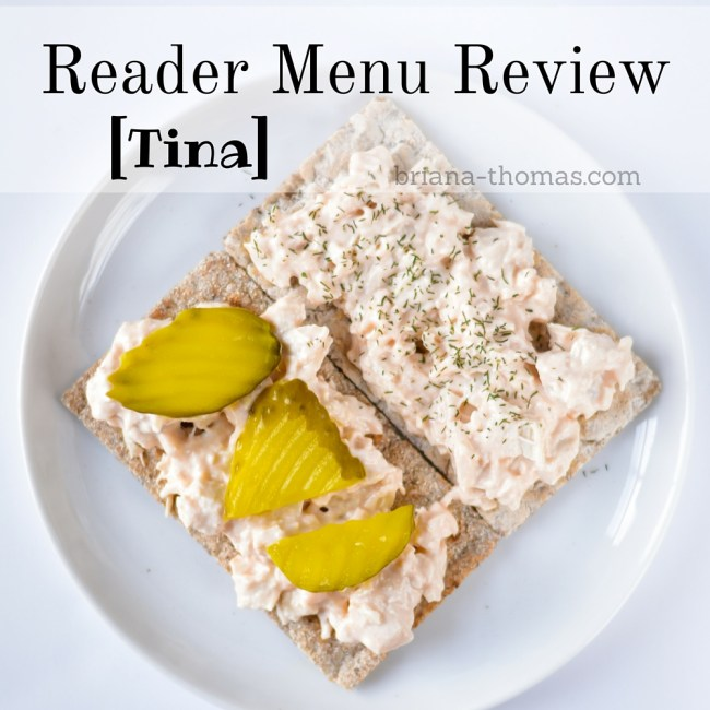 Reader Menu Review [Tina]