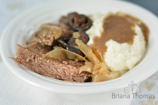 Crockpot Beef and Gravy