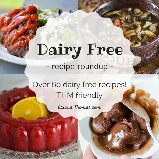Dairy Free Recipe Roundup