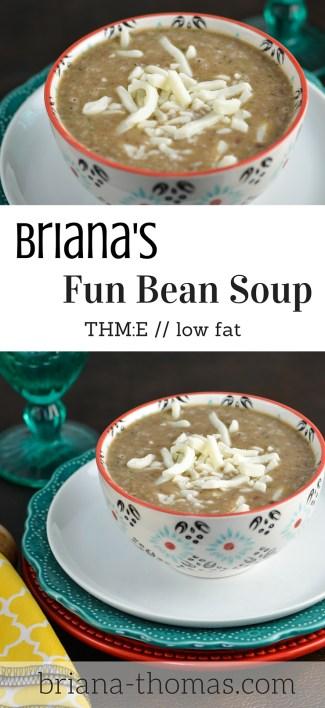 Briana's Fun Bean Soup