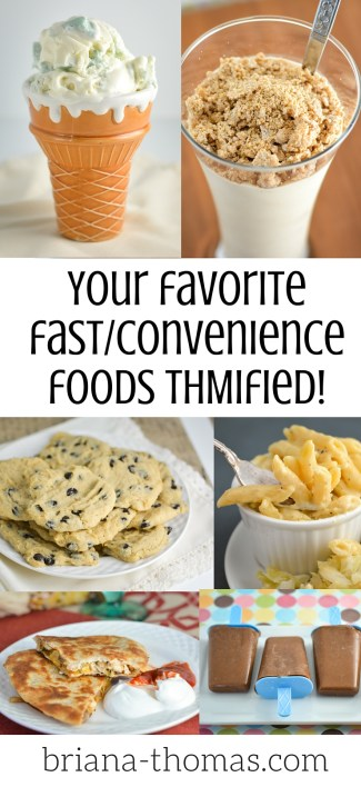 Your Favorite Fast Convenience Foods THMified