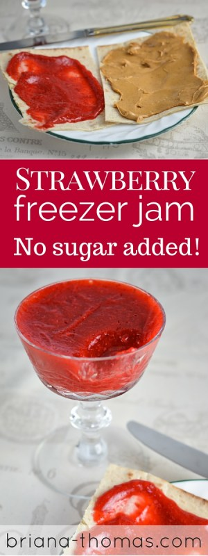Strawberry Freezer Jam | Briana Thomas