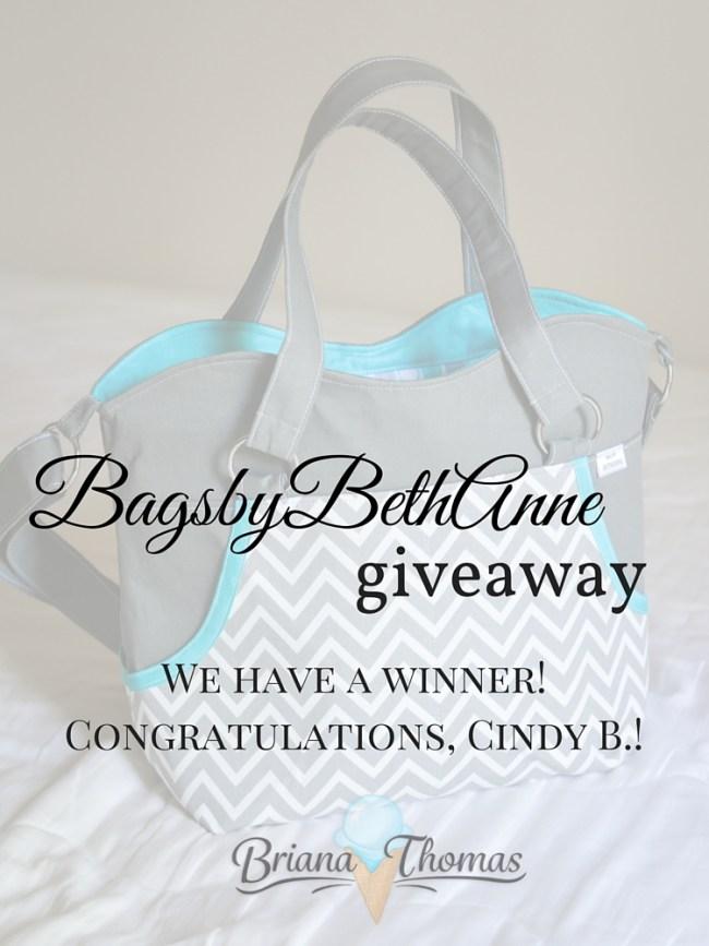 BagsbyBethAnne Giveaway Winner
