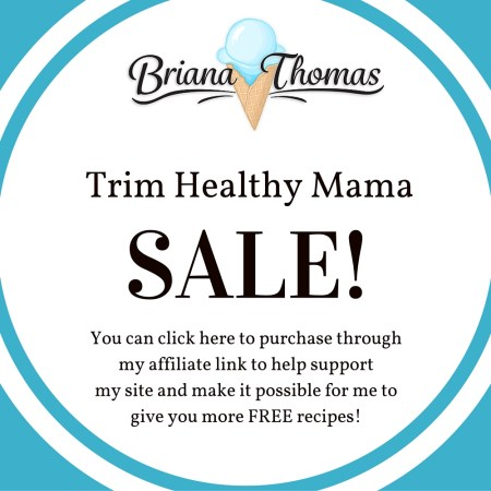 Trim Healthy Mama Sale!