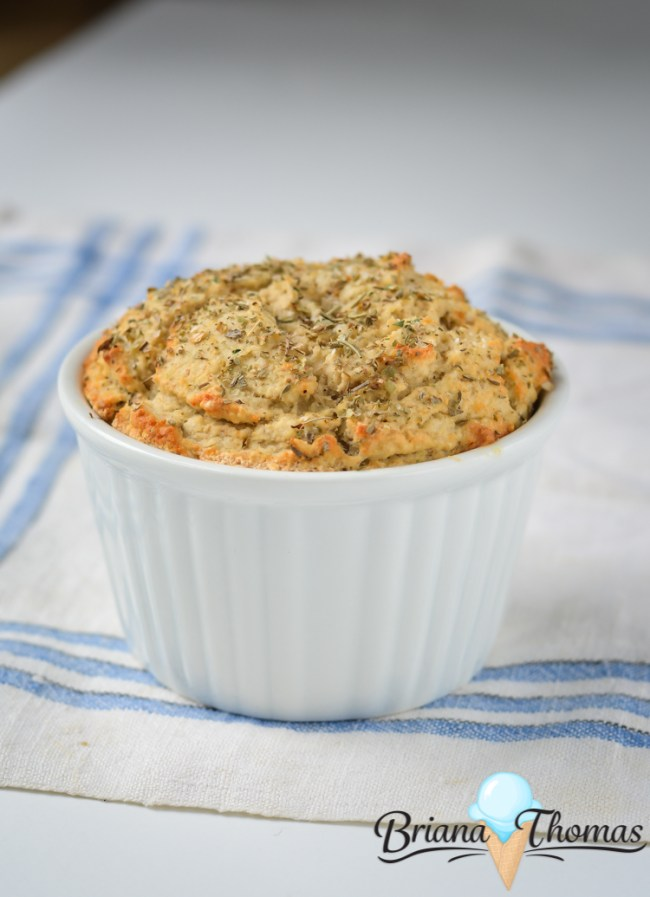 Parmesan Herb Biscuit Muffin