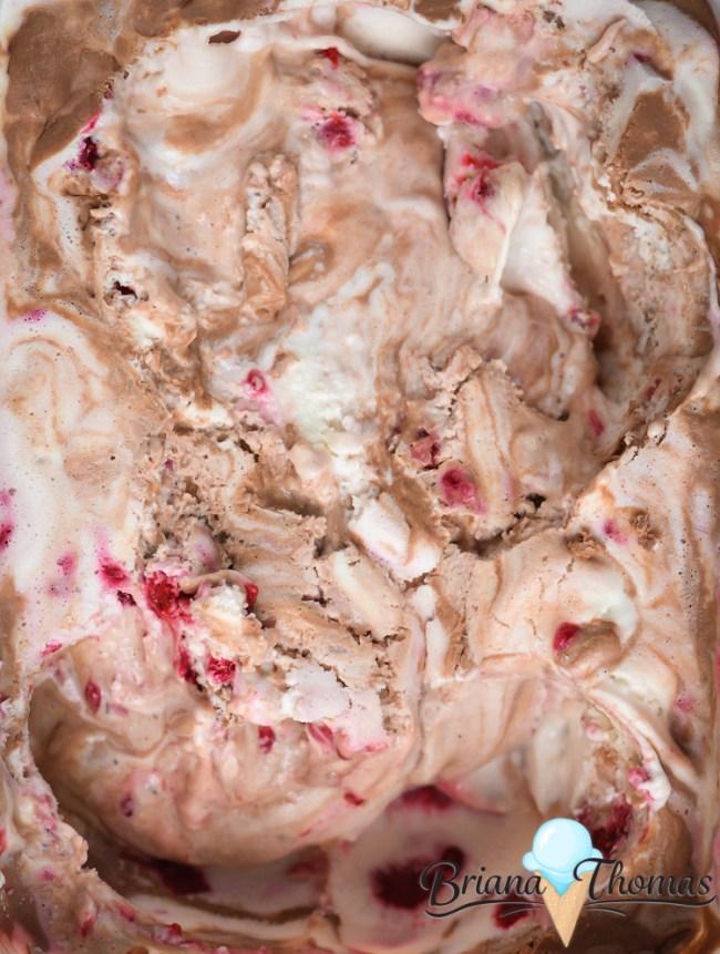Cheesecake Raspberry Ganache Ripple Ice Cream