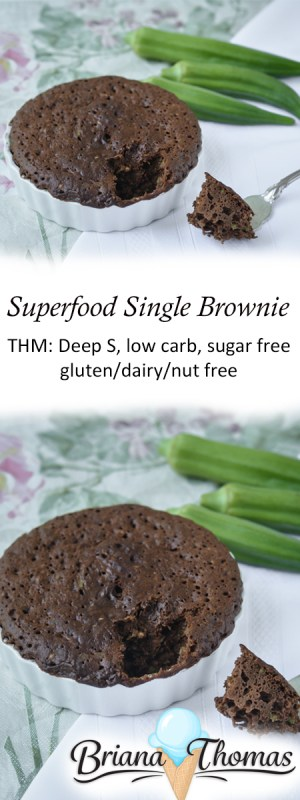 Superfood Single Brownie