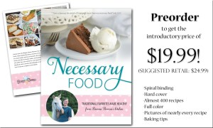 Cookbook Preorder is Open!