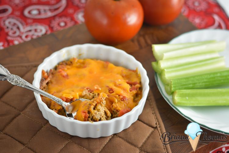 Fiesta Dip - THM:S, low carb, sugar free, gluten/egg/nut free