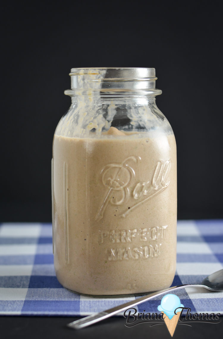 This Chocolate Dreamy is my favorite THM Fuel Pull shake recipe! It reminds me of a Wendy's Frosty! Gluten/egg free with nut free option, sugar free