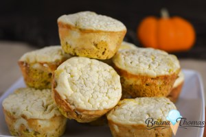 Pumpkin Cheesecake Muffins