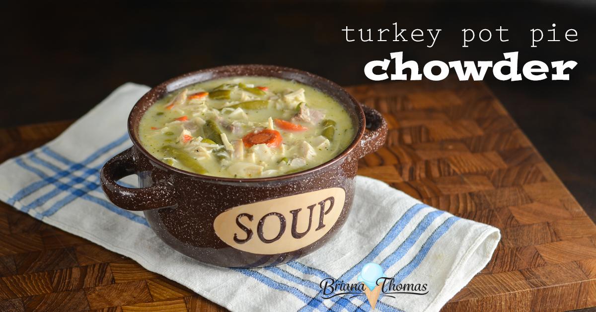 Turkey Pot Pie Chowder (THM:S)
