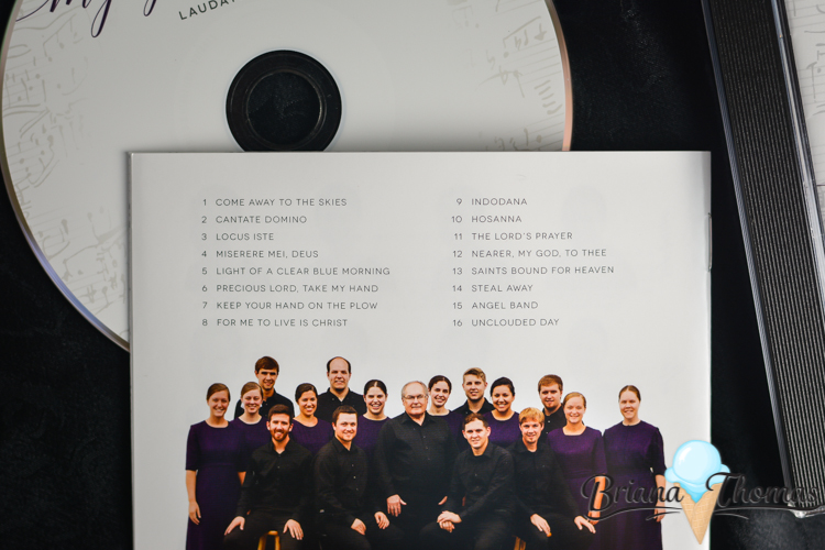 "Laudate Mennonite Ensemble has released its 2016 CD: ""My Spirit Sings""! LME is a 16-member a cappella choir under the direction of Dr. Ken Nafziger."