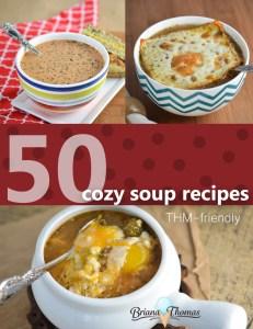 50 Cozy Soup Recipes! {Roundup}